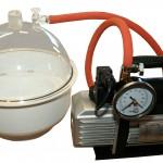 Vakuumkammer & Entgasung-Units.