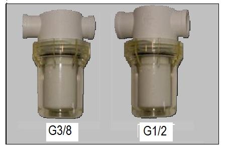 PA-Kunststoff Filter