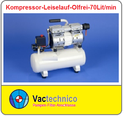 Kompressor-leiselauf-olfrei- 70Lit-min